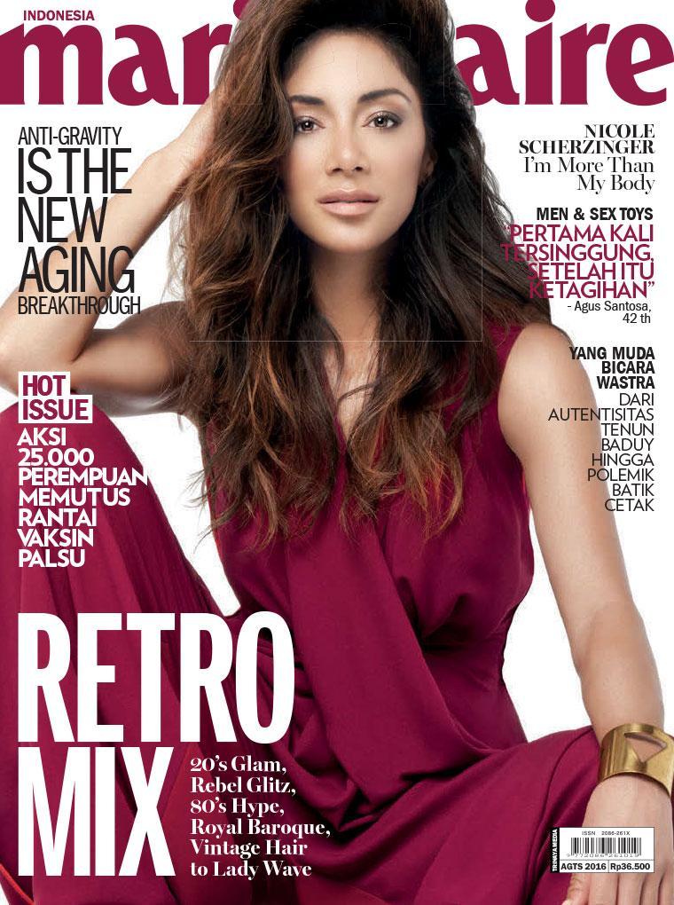 Majalah Wanita Premium Marie Claire