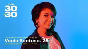 Vania Santoso Masuk Ke Dalam Penghargaan Majalah Internasional Forbes